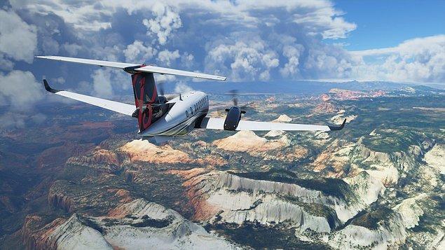 6. Microsoft Flight Simulator