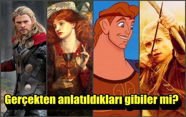 Filmler vs Mitoloji! Filmlerde İzlediğiniz Mitolojik Karakterler Gerçekten Anlatıldıkları Gibi mi?