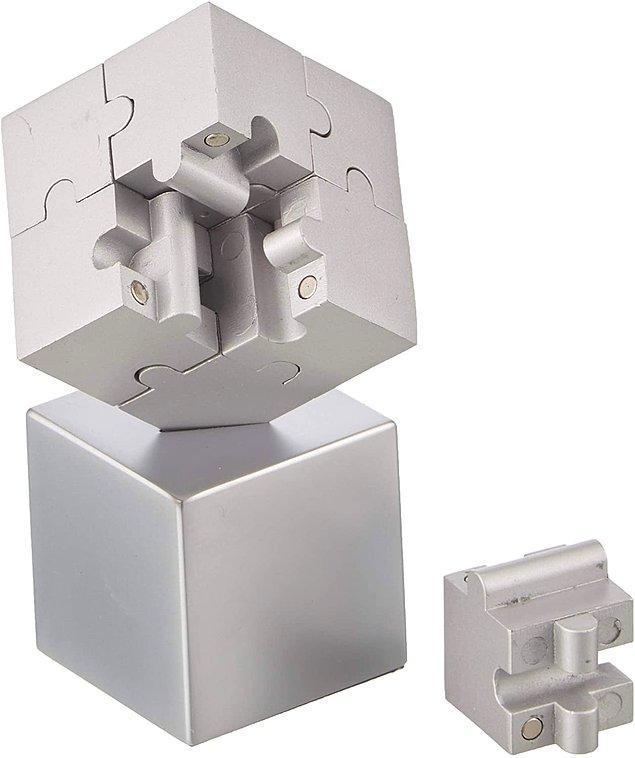 5. Ee standart puzzle'lardan sıkıldıysanız metal puzzle'lar tam sizlik.