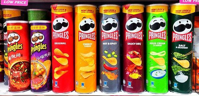 Pringles'ın Maskotu Değişti