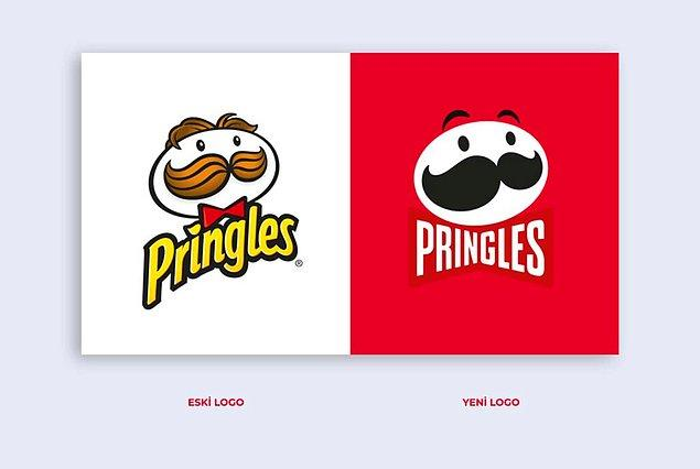 Pringles'ın Eski Logolu Son Stokları