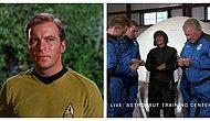 Film Gerçek Oldu: Star Trek'in Kaptan Kirk'ü Uzaya Çıktı