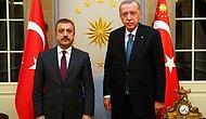 Cumhurbaşkanı Erdoğan, Merkez Bankası Başkanı Kavcıoğlu ile Görüştü