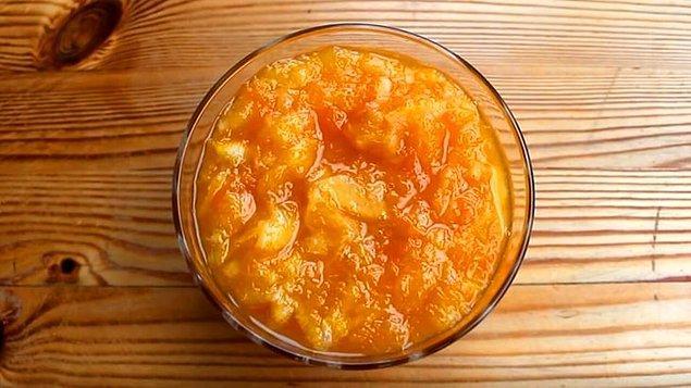 Portakal Reçeli Malzemeleri
