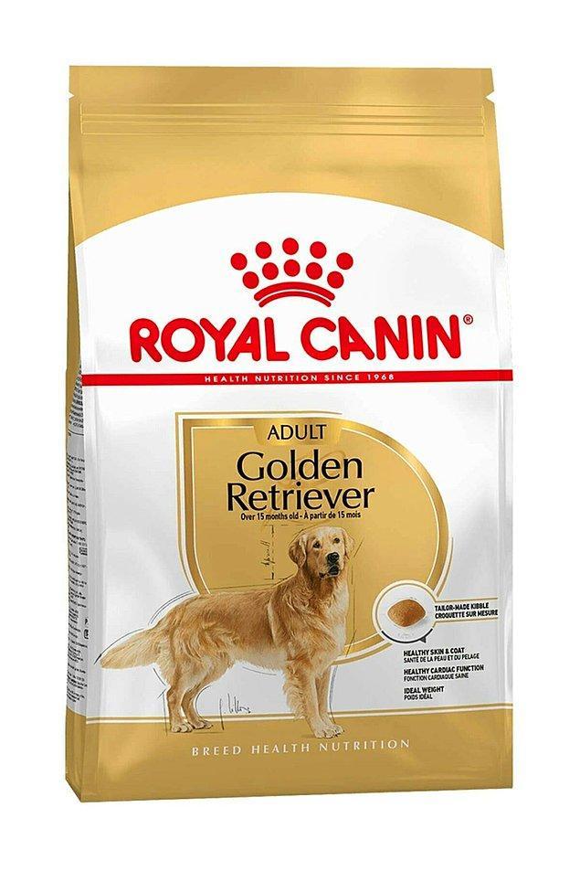 16. Sıkça tercih edilen bir cins olan Golden Retrieverlara özel yapılan mamayı tercih etmelisiniz.