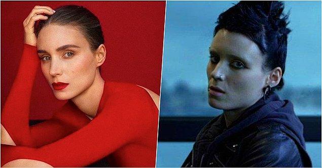 7. Rooney Mara – Ejderha Dövmeli Kız