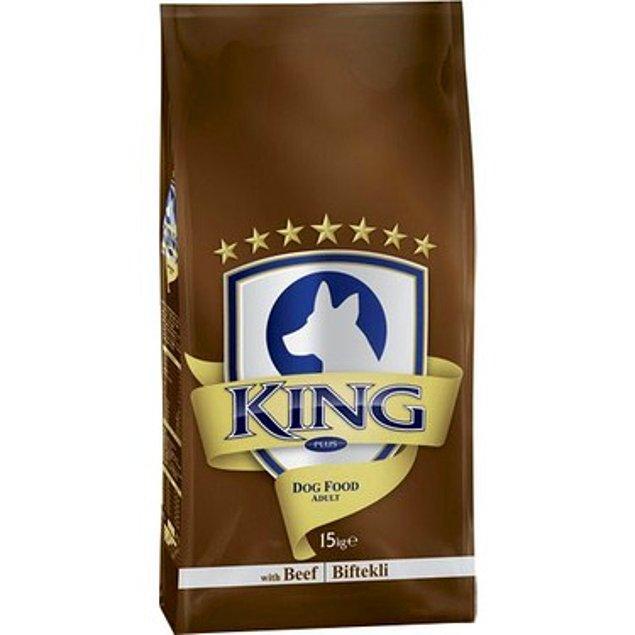 23. Uygun fiyatı ile gönüllere taht kuran King marka mamalar:
