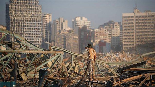 Beyrut Limanı'ndaki patlama
