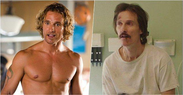 15. Matthew McConaughey – Sınırsızlar Kulübü