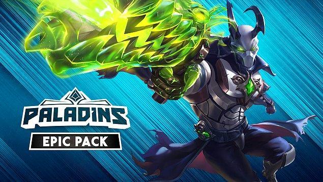 Bu kadarla da bitmedi, Paladins Epic Pack de bu haftanın ücretsiz içeriklerinden.