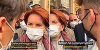 Akşener Parasızlıktan Dert Yanan Gençleri Paylaşıp Erdoğan'a Seslendi: 'Burada da Türkü Söyleyebilir misin?'