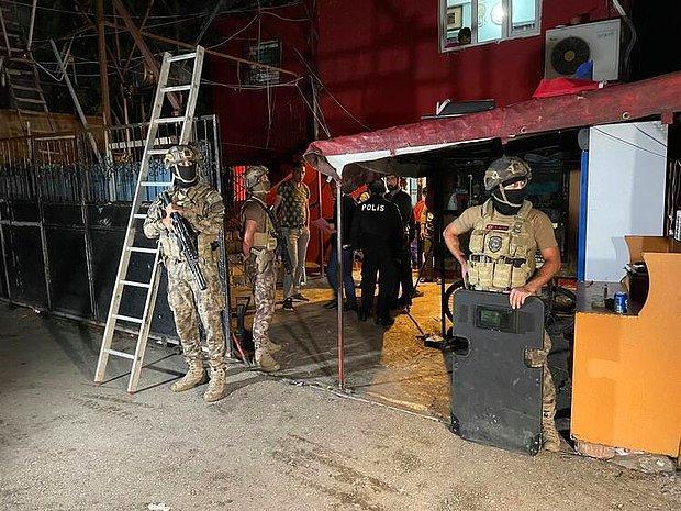 Adana'da 'Cono' Aşiretine 500 Polisle Operasyon