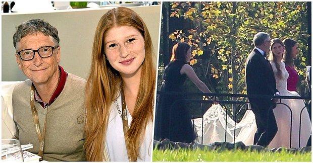 Mısırlı Jokey Nayel Nassar ile Evlenen Bill Gates'in Kızı Jennifer Gates'e İmam Nikahı Kıyıldı!
