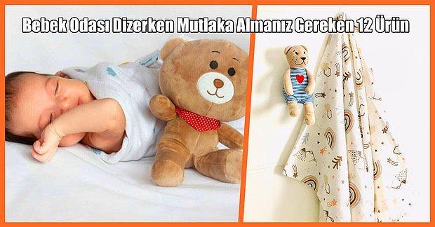 Bebek Odası Dizayn Edenlerin Çok Beğeneceği 12 Ürün