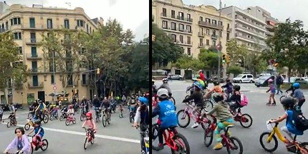 Barcelona'da Cuma Günleri Yapılan Çevreci Etkinliğe Çocuklardan Büyük İlgi