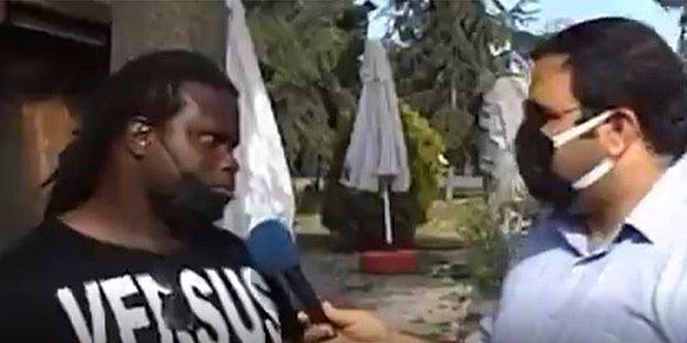 Seçim Olsa Oyunu Erdoğan'a Vereceğini Söyleyen Siyahi: 'Eskiden Her Yer Çöp, Pislikti'