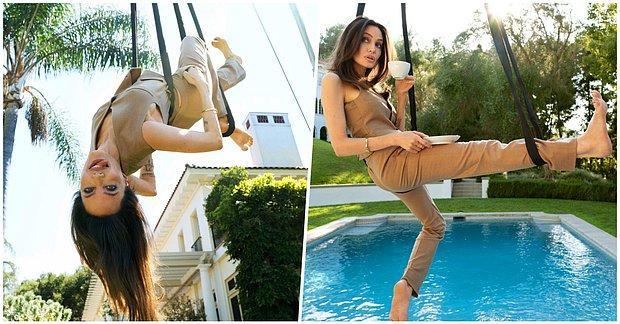 ELLE Dergisi İçin Verdiği Pozlarla 20'liklere Taş Çıkartan Angelina Jolie Ortalığı Kasıp Kavurdu!