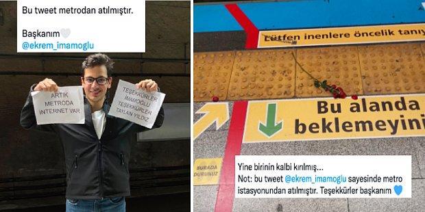 Hayalimiz Gerçek Oldu! İstanbul'da Metroya İnternetin Gelmesine Sevinen 11 İstanbullu