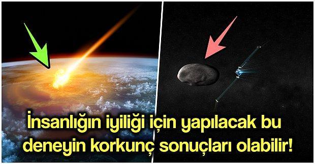 Uzay Konusunda Büyük İşler Başaran NASA Şimdi de Kasıtlı Olarak Gök Taşı Vurmaya Hazırlanıyor!