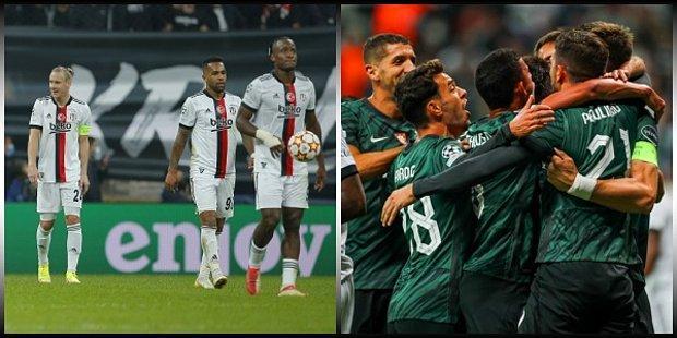 Beşiktaş Şampiyonlar Ligi'ndeki 3. Maçında Sporting Lizbon Karşısında Büyük Hayal Kırıklığı Yarattı: 1-4