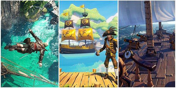 """""""Günün Stresinden Kaçayım, Deryalara Açılayım"""" Diyenler İçin 13 Adet Denizcilik ve Korsanlık Oyunu"""
