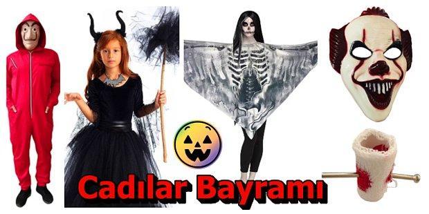 Cadılar Bayramı Partisinde Ne Giysem Derdine Son: En Korkunç Halloween Kıyafetleri ve Aksesuarları