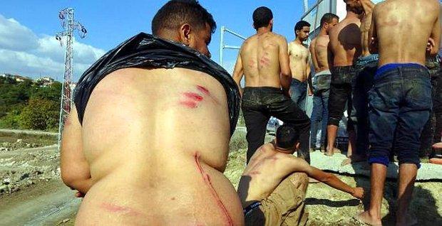 Yunanistan Güvenlik Güçleri, Para ve Kıyafetlerini Aldığı Göçmenleri Türkiye'ye İtti