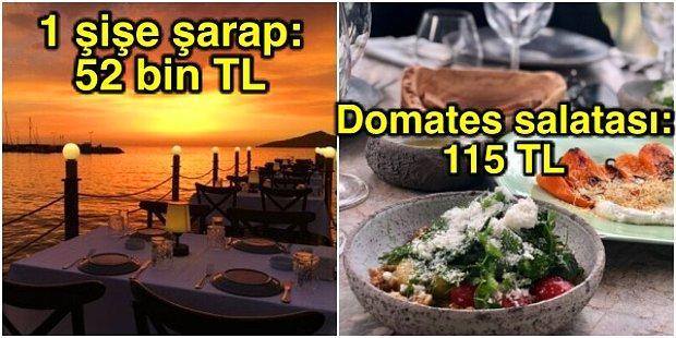 Memleketin Lüks Restoranlarına Ait Bu Adisyonları Görünce Fakir Olduğunuzu Bir Kez Daha Anlayacaksınız