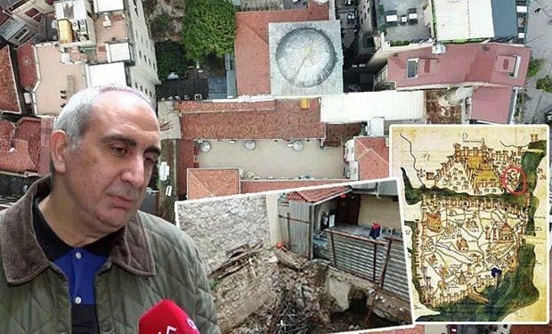 Beyoğlu'ndaki Tarihi Yeraltı Camii Yanına Otel Yapılacak