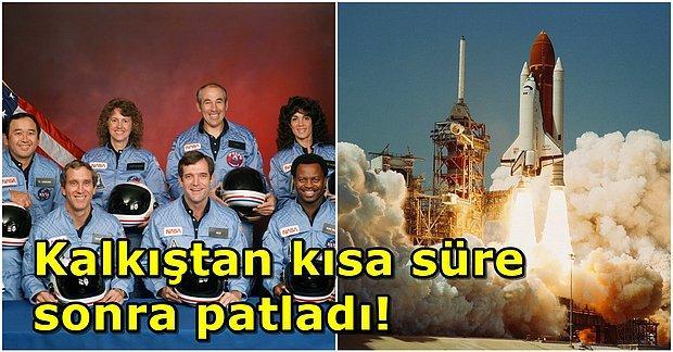 En Büyük Uzay Felaketi: Challenger Uzay Mekiği Faciasında Neler Oldu?