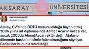 Aksaray Üniversitesi'ndeki Bir Akademisyenin Diploması ve Eğitimiyle İlgili Ortaya Atılan Şaşırtan Gariplikler