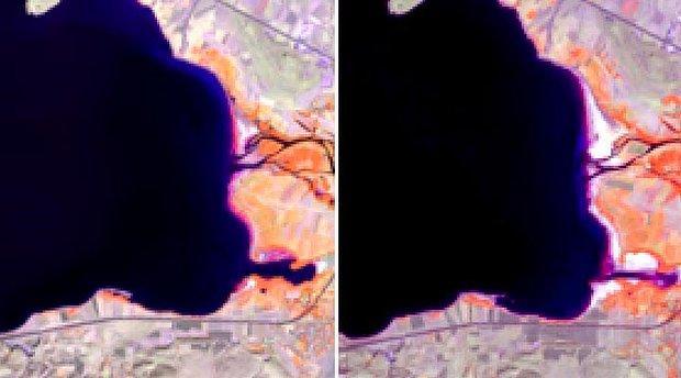 Van Gölü Her Geçen Gün Küçülüyor: 'Gölün Şekli Kısmen Değişiyor'