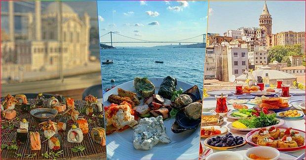 Karnını Doyururken Gözünü de Doyurmak İsteyenlere: İstanbul'da Manzarasıyla Yemeği Unutturan 20 Mekan