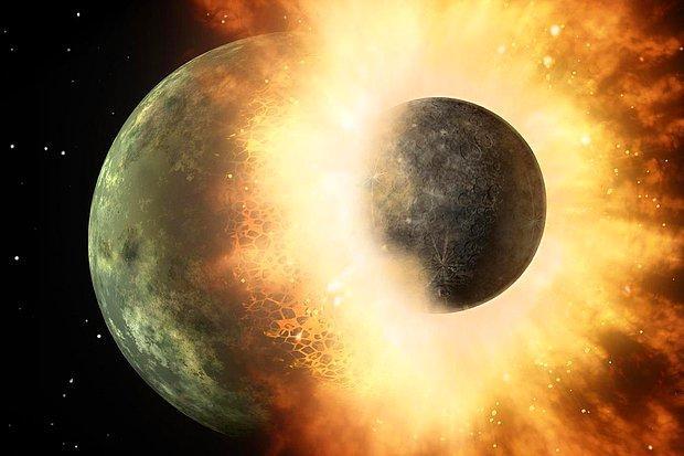 Bilim İnsanları Atmosferi Çarpışma Sonucu Parçalanmış Bir Gezegen Keşfetti
