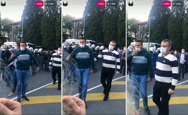 Polisten Boğaziçi Öğrencilerine: 'Her Türlü Gözaltına Alınacaksınız'