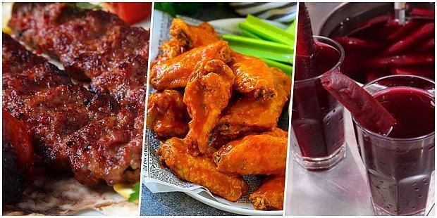Bu Yiyeceklerden Hangilerini Acılı Yersin?