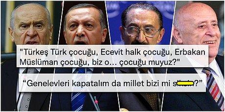 Türk Siyasetinde Akılda Kalan Klasikleşmiş Cümleleri Yazarak Herkesi Güldürürken Düşündüren Kişiler
