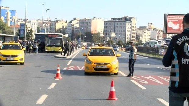 İstanbul'da Yolcu Seçen Taksici: 'Trafiğe Girersek Para Kazanamıyoruz'