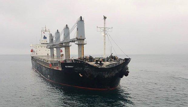 Marmara Denizi'nde İki Yük Gemisi Çarpıştı