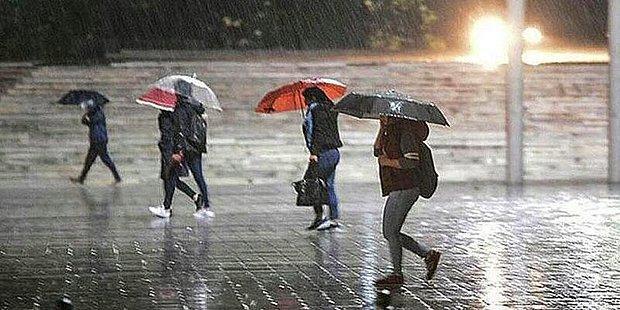 Meteoroloji Uyarıyor! Şiddetli Yağışlar Yolda...