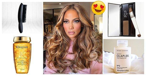 Karşınızda Jennifer Lopez'in Bir Bakana Dönüp Bir Daha Baktıran Efsane Saçlarının Sırrı Mucizevi Ürünler