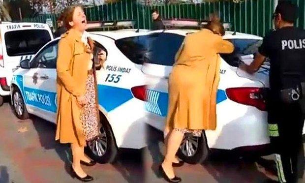 Polis Çevirmesinde Çığlık Atan Öğretim Görevlisinin Görüntüsünü Çekene Beraat, Paylaşana Hapis...