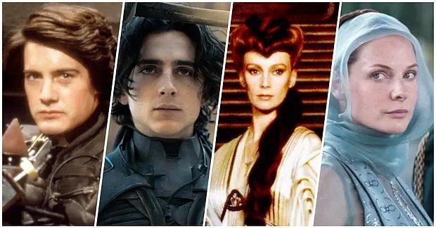 Eski mi Yeni mi? Dune Filminin Orijinal Oyuncu Kadrosunu ve Yepyeni Kadrosunu Karşılaştırıyoruz!