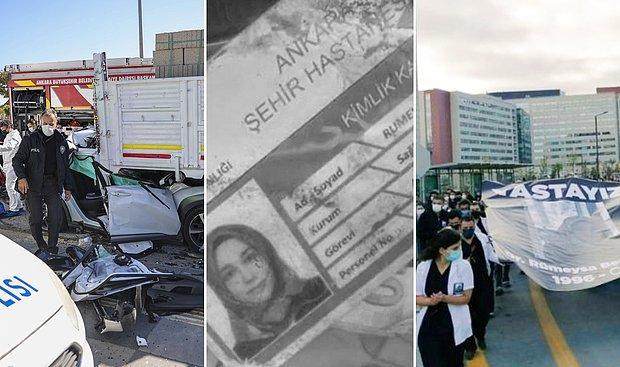 Asistan Dr. Rümeysa Şen'in Ölümü: Hastane Açıklama, Hekimler Eylem Yaptı