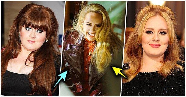 Yeni Şarkısı ile Rekor Üstüne Rekor Kıran Adele'in Geçirdiği Değişimi Görünce Ağzınız Açık Kalacak!