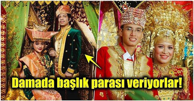 Dünyadaki Tek Müslüman Anaerkil Halk Olan Minangkabau Kabilesinin Düğün Gelenekleri Sizi Şaşırtacak!