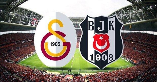 Galatasaray - Beşiktaş Derbi Maçı Ne Zaman, Hangi Kanalda? Galatasaray - Beşiktaş İlk 11'leri Kim?