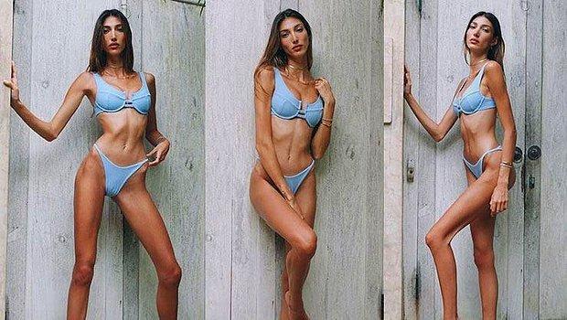 """Ünlü Model Şevval Şahin'in """"Kabak"""" Pozu Olay Oldu!"""