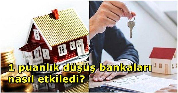 Konut Kredi Faiz Oranlarında Yapılan 1 Puanlık İndirim Sonrası Bankaların Güncel Faiz Listesi