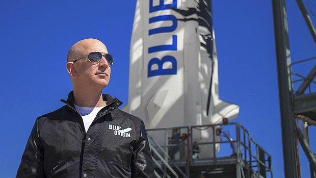Jeff Bezos, Uzayda 32 Bin Metrekarelik Alanda İstasyon Kuracak